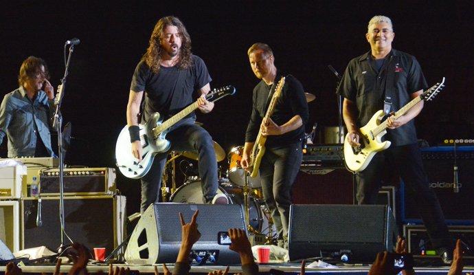 Fotografía: Foo Fighters en Bogota, por Felipe Rocha