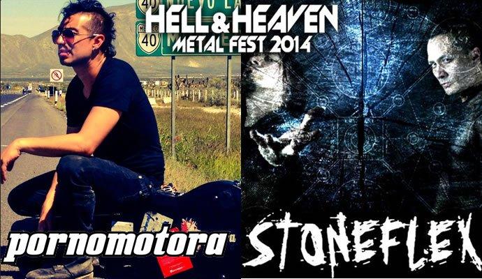 Pornomotora y Stoneflex se presentarán en el Heaven and Hell Metal Fest 2014
