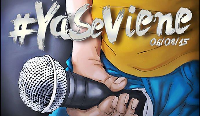 """Esta es la imagen de promoción del sencillo """"Ya Se Viene"""""""