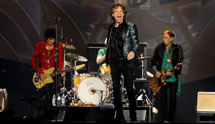 The Rolling Stones el 10 de marzo de 2016 en Bogotá