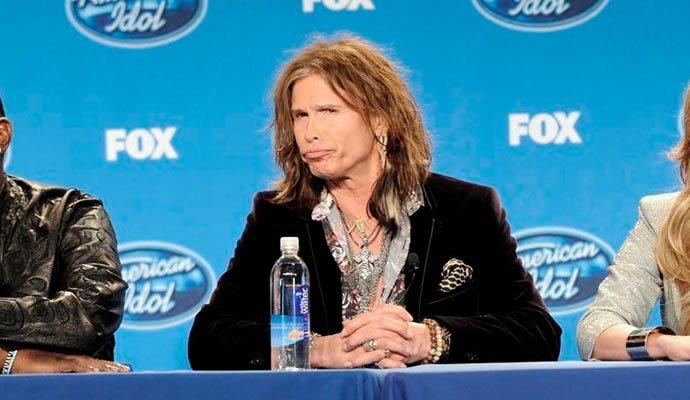 Steven Tyler, juez de American Idol