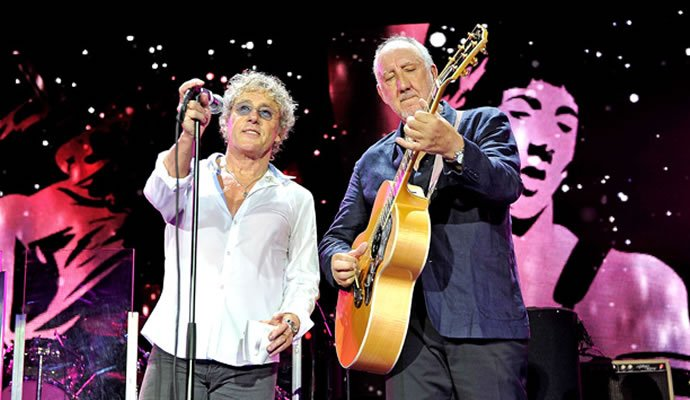 Roger Daltrey y Pete Townshend de The Who