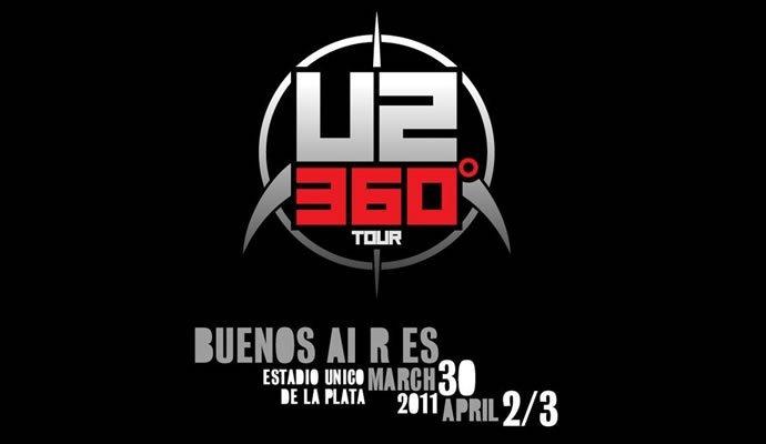 U2 confirma tres fechas en Buenos Aires