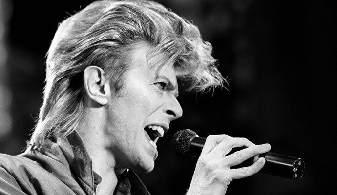 David Bowie el 19 de junio de 1987. Foto: AP