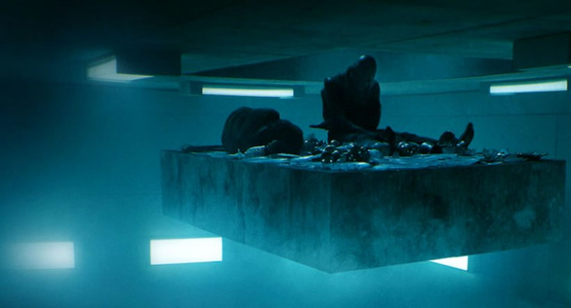 """Captura de imagen de la película """"El Hoyo"""""""