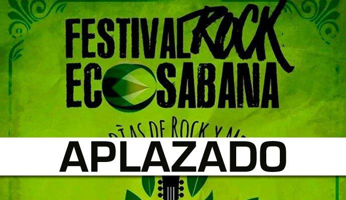 Se aplaza la primera edición del Festival Rock Eco Sabana
