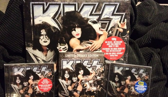 "Kiss presenta su nuevo álbum ""Monster"""