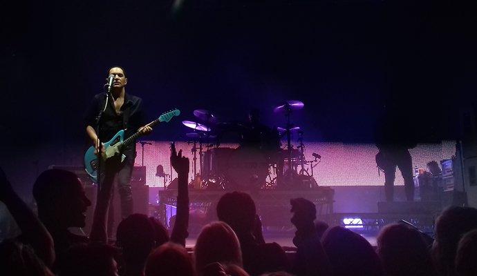Placebo en su concierto en Barcelona el pasado 26 de abril