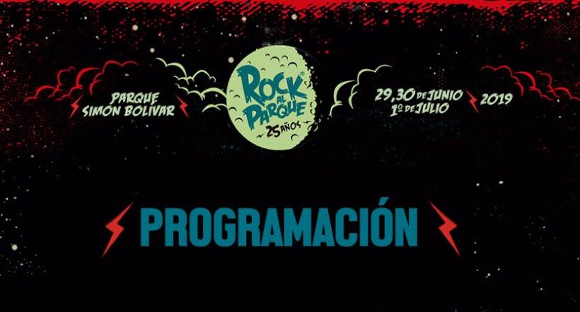 Programación Rock al Parque 2019