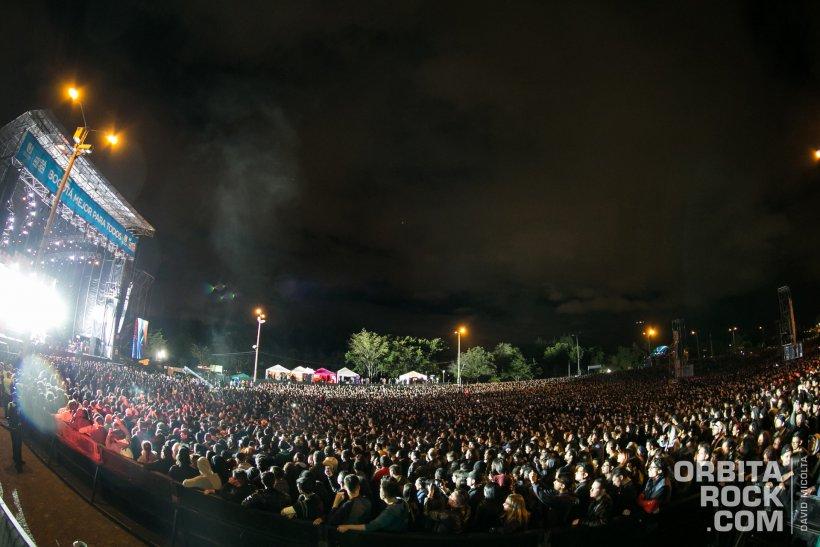 Público en Rock al Parque 2017 Foto David Micolta