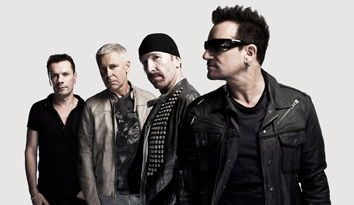 U2 llega por primera vez a Colombia en Octubre de 2017